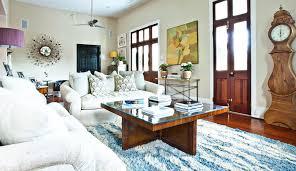 Family Room Decor Ideas U0026 Tips Charming Mocca Shag Rugs Plus Cream Sofa For Living