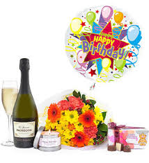 30th birthday flowers and balloons birthday flowers balloons and cake from prestige flowers