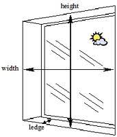 window measurements basics for measuring windows factory blinds