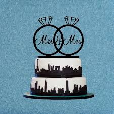 mrs and mrs cake topper same cake topper wedding custom mrs mrs cake topper