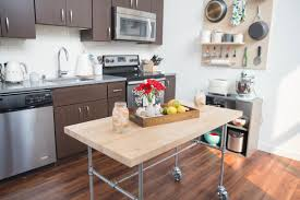 how to build a kitchen island with seating how to build a kitchen table on wheels