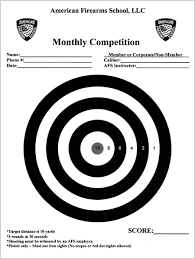 target black friday afs afs monthly shooting competition rules regulations