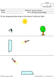 all worksheets light and shadow worksheets printable