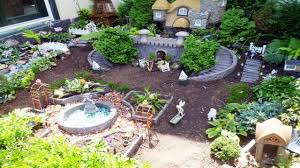 Mini Fairy Garden Ideas by Interior Decoration For Small Houses For The Garden Fairy Houses