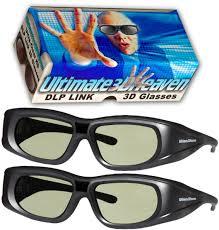 amazon com dlp link 144 hz ultra clear hd 2 pack 3d active