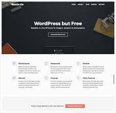 50 free and professional looking wordpress themes to download