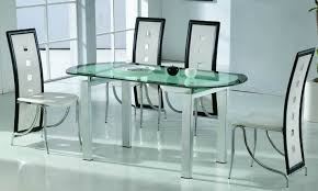 Exellent Glass Dining Room Tables Table And Chairs Design - Glass dining room tables