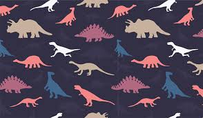 pattern wallpaper dinosaur pattern wall mural patterned wallpapers custom made by