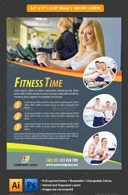 fitness flyer template fitness flyer flyer template template and print templates