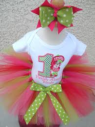 strawberry shortcake ribbon strawberry shortcake tutu sets birthday hats shirts clothing