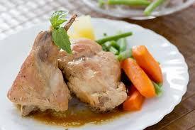 cuisiner le lapin en sauce recette lapin sauce matelote 750g