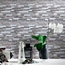 limestone tiles amazon com kitchen bath fixtures stone tiles art3d peel and stick wall tile for kitchen bathroom backsplash 12