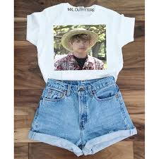 Tshirt Meme - hawaii jungkook meme bts t shirt