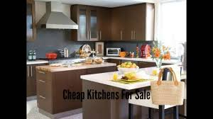 Ideas For Kitchens Remodeling by Cheap Kitchens For Sale Small Kitchen Remodeling Ideas Youtube