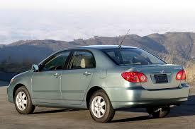 2001 toyota corolla value 2005 toyota corolla overview cars com