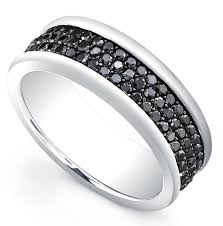 black diamond wedding band mens black diamond wedding band wedding definition ideas