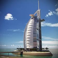 burj al arab hotel 3d model max obj fbx cgtrader com