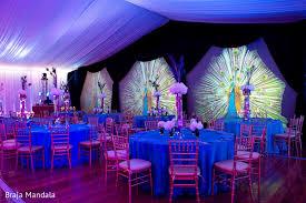 Wedding Wall Decor Peacock Inspired Indian Wedding Decor Fullonwedding