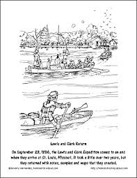 missouri map coloring pages free lewis and clark worksheets and coloring pages