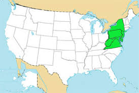 us map middle states usa geography quizzes map