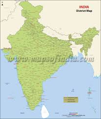 Map Of The United States Capitals by Districts Of India India Districts Map