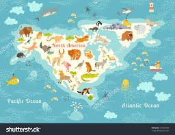 World Continents And Oceans Map by Continent Clipart Kid Pencil And In Color Continent Clipart Kid