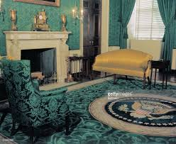 The White House Interior by Empty Green Room At White House Pictures Getty Images