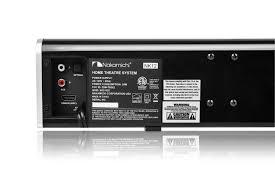 sears home theater nakamichi nk 12 nk12 400 watt bluetooth soundbar w wireless