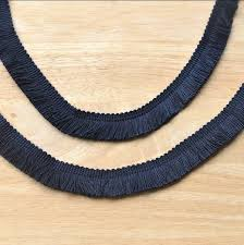 navy lace ribbon 2 meters exquisite tassel lace ribbon diy sewing material navy blue