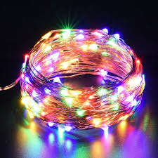 accessories gold decorations led lights