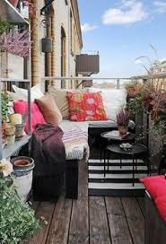 6 ways to make the most of small outdoor spaces small tables