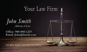 Business Cards Attorney Interest Lawyer Business Card Design 401271