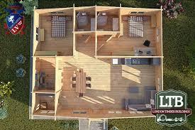 2 bedroom log cabin 2 bedroom residential type log cabin richmond range 11m x 9m