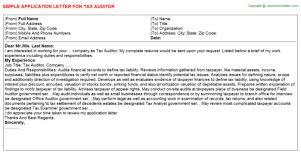 residential energy auditor cover letter