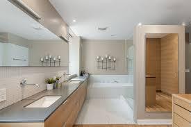 bathroom design denver modern bathroom with drop in bathtub slate counters in