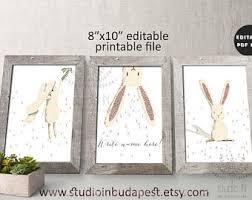 bunny nursery bunny nursery decor etsy