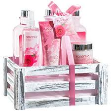 bath gift set beautiful luxurious pink bath gift set for