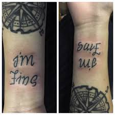 tattoos org depression is hell tattoo submit your tattoo here