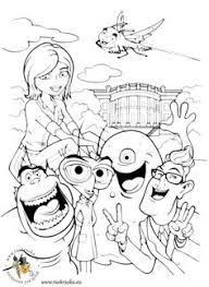 disney monsters coloring pages wecoloringpage