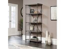 sauder 5 shelf bookcase sauder home office 5 shelf bookcase 419228 crown furniture
