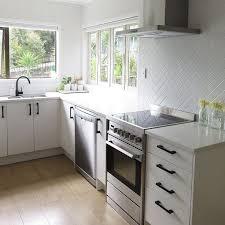 Kitchen Tiled Splashback Ideas Best 25 Black Splashback Ideas On Pinterest Modern Kitchen