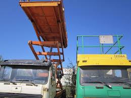 saksilava auto saxi 14 mercedes benz 1217 truck mounted scissor