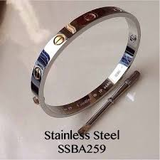 stainless steel cartier bracelet images Cartier bangle 2tone replica shopee philippines
