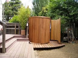 outside bathroom ideas outdoor shower design ideas best home design fantasyfantasywild us