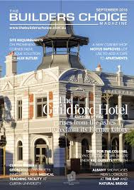 builders choice magazine september 2016 by the builders choice issuu