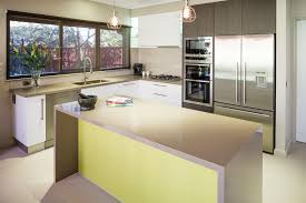 add a pop of colour to your kitchen design for instant warmth and