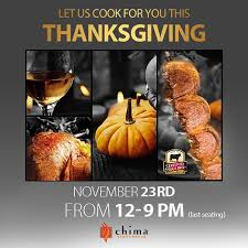 rodizio dinner plus thanksgiving chima philadelphia