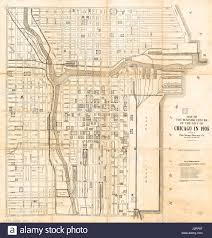 City Map Of Chicago by Map Of Chicago Stock Photos U0026 Map Of Chicago Stock Images Alamy