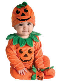 infant li u0027l pumpkin onesie baby halloween costumes halloween