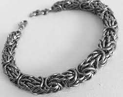metal men bracelet images Mens metal bracelet etsy jpg